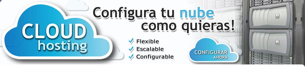 Cloud Hosting - Hosting en la nube