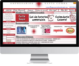 Asociación de empresarios e comerciantes de Santa Comba
