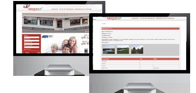 Diseño Web  Galicia para inmobiliarias